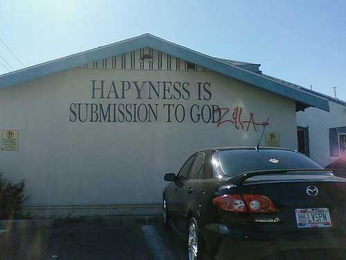 submission to godzilla